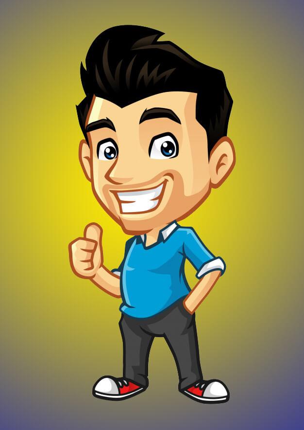 mascot character graphic designing company & designer in varanasi