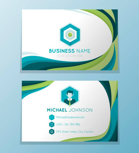 visiting card designing