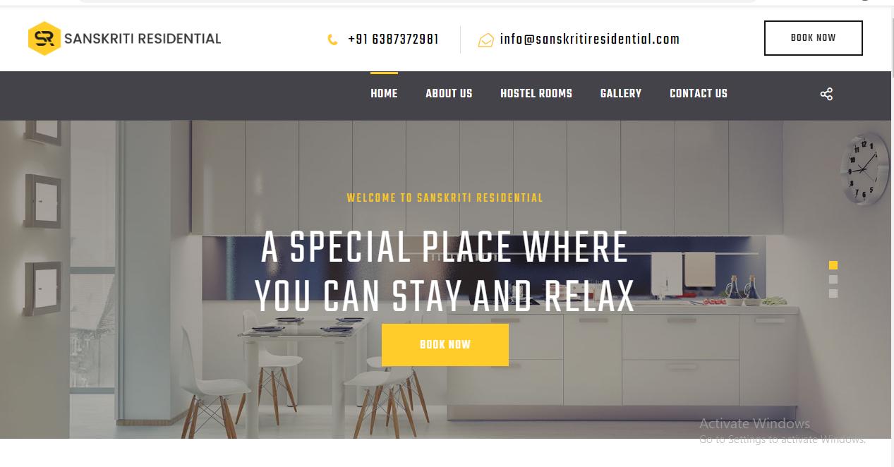 sanskriti residential designing company in varanasi india