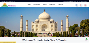 Hotel website designing company in varanasi india
