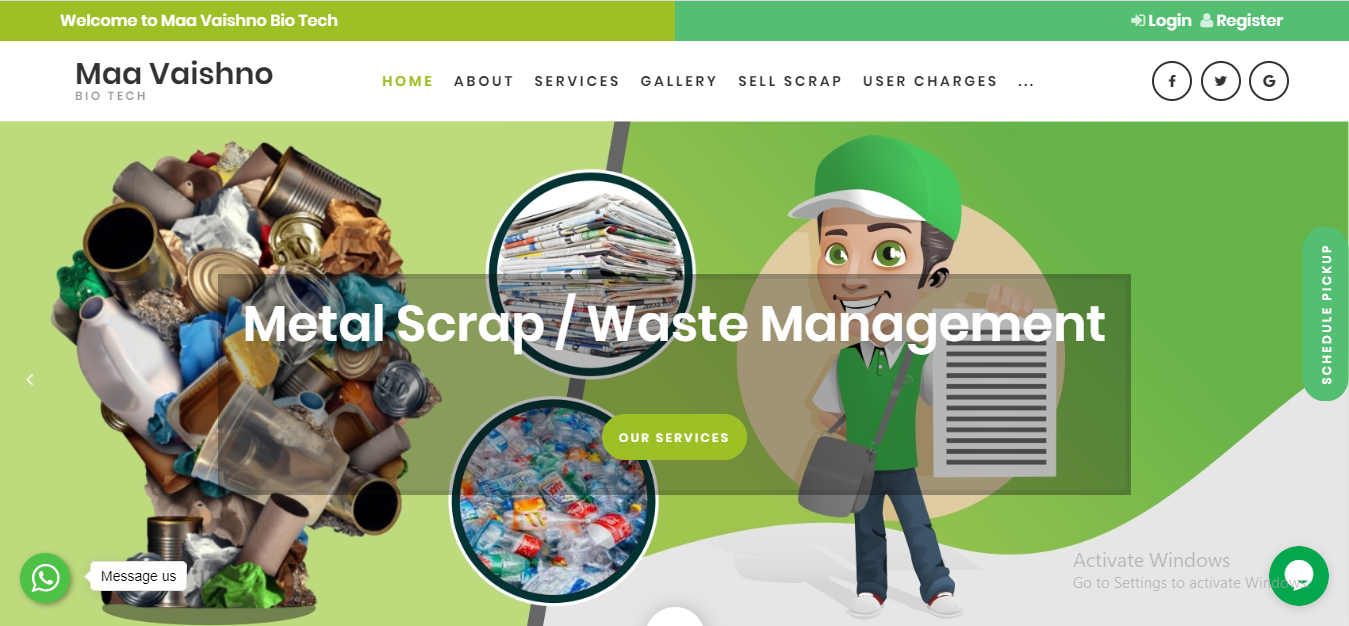 Scrap Product designing company in varanasi india