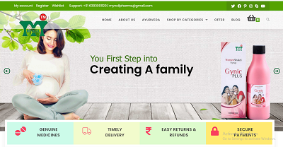 hospital website designing company in varanasi india